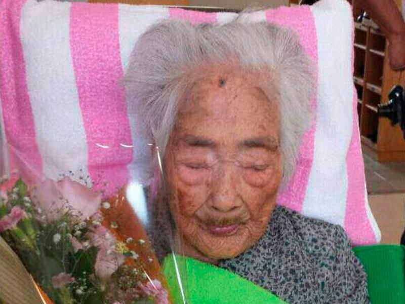 """В Японии умерла старейшая жительница планеты. Наби Тадзиме было 117 лет"""" />"""