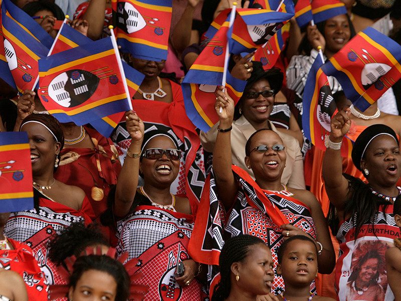 """Абсолютный монарх Свазиленда Мсвати III объявил о переименовании государства в королевство Эсватини, что означает """"земля свази""""."""