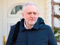 Лидер оппозиции Британии выступил против ракетного удара по Сирии