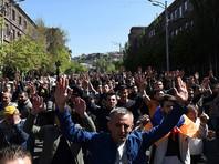 """Лидер оппозиции Армении провозгласил в стране """"бархатную революцию"""""""