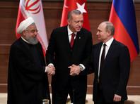 В совместном заявлении по итогам встречи в Анкаре президенты России, Ирана и Турции призвали стороны военного конфликта в Сирии соблюдать положения резолюции N2401 Совета Безопасности ООН
