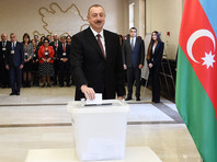 Ильхам Алиев набирает более 86% голосов на внеочередных президентских выборах в Азербайджане