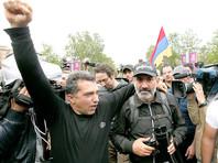 """""""Кандидат от народа"""" Пашинян объявил о победе на митинге в Ереване"""