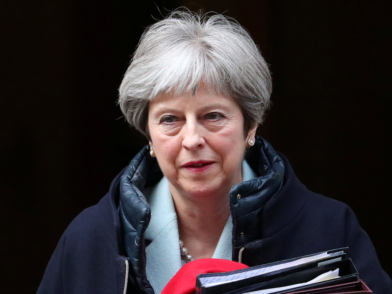 """BBC: Мэй готова без согласования с парламентом поддержать нанесение авиаударов по силам Асада"""" />"""