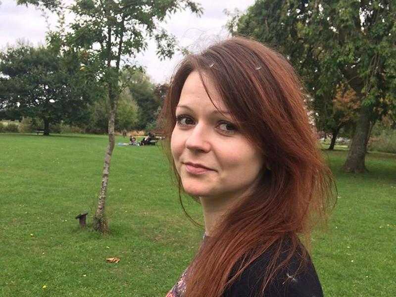 Юлия Скрипаль, дочь бывшего российского разведчика Сергея Скрипаля, выписана из больницы, в которой она находилась после отравления в британском Солсбери