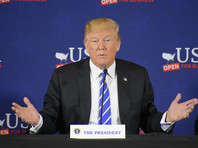 """Трамп отказался читать приготовленную для него """"скучную"""" речь (ВИДЕО)"""