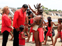 Президент Венесуэлы Мадуро начал предвыборную кампанию с шаманского обряда (ФОТО, ВИДЕО)