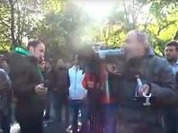 В центре Еревана противники премьерства Саргсяна проводят акции протеста