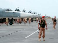"""Российские военнослужащие на авиабазе """"Хмеймим"""", май 2016 года"""