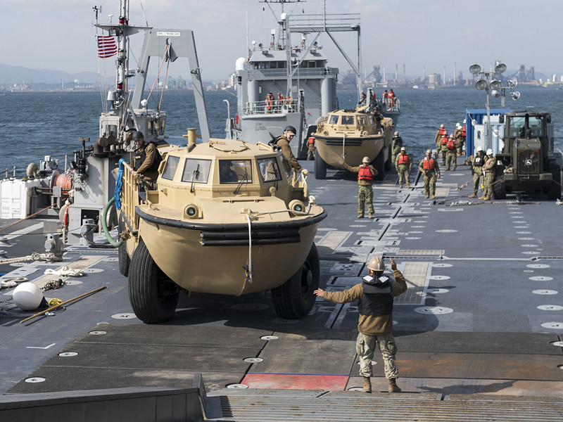 США и Южная Корея приступили к проведению масштабных военных учений с кодовым названием Foal Eagle