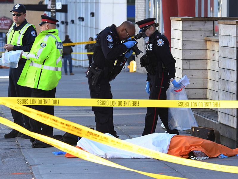 """Власти Канады   не  связывают наезд на пешеходов в Торонто с терроризмом"""" />"""