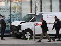 Власти Канады не связывают наезд на пешеходов в Торонто с терроризмом