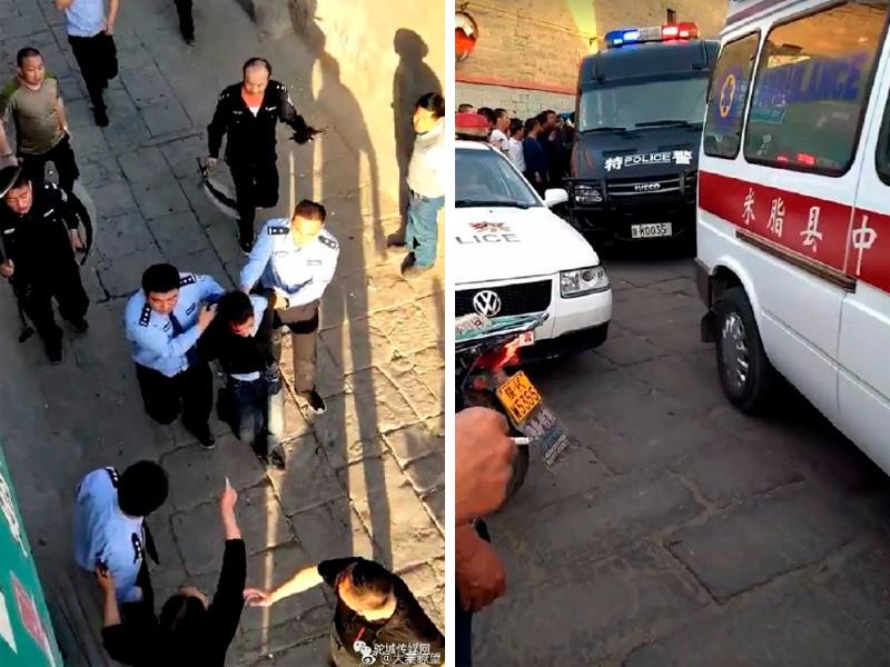 """В Китае неизвестный напал с ножом на учеников школы: семеро детей погибли"""" />"""