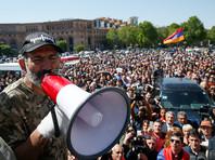 Сторонники лидера армянской оппозиции Никола Пашиняна решили возобновить акции протеста против действующей власти. В среду, 25 апреля, они проводят митинг в центре Еревана, передает ТАСС. Накануне Пашинян призвал к проведению акции гражданского неповиновения