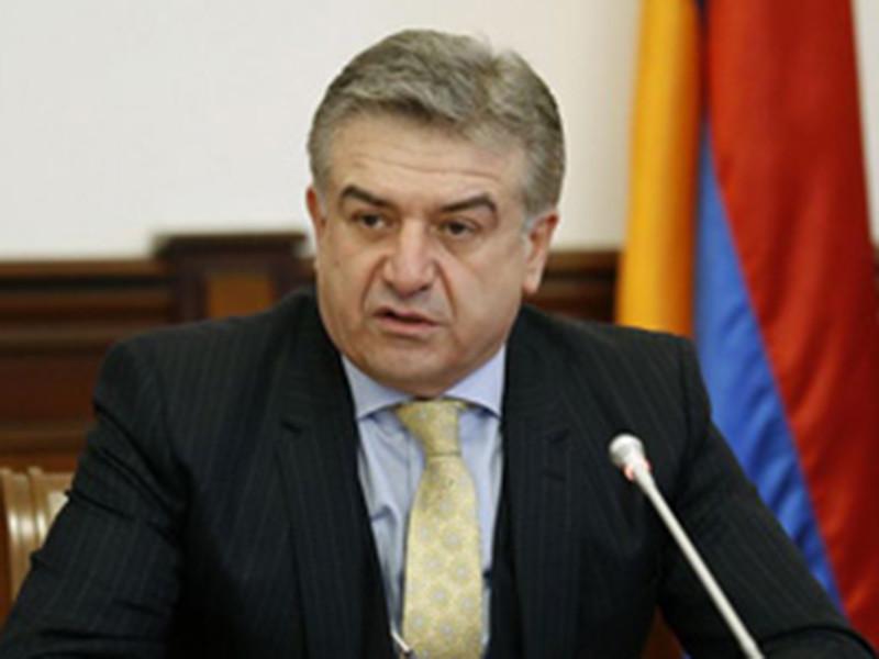 В правительстве Армении опровергли отставку врио премьера Карапетяна
