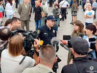 Украинская полиция отчиталась о задержании продавщицы воздушных шариков на акции в честь Дня Победы