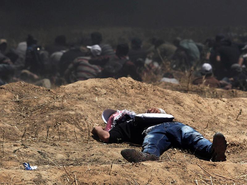 Число погибших в столкновениях между израильскими военными и палестинцами возросло до 60