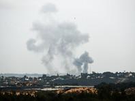 """Военно-воздушные силы Израиля в ночь на среду, 23 мая, нанесли удар по позициям """"морской полиции"""" """"Хамас"""" в секторе Газа"""