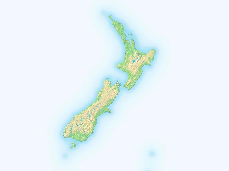 """Новая Зеландия начала ироничную кампанию против """"мирового заговора"""", из-за которого страну часто игнорируют на картах"""
