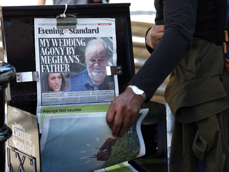 Отец Меган Маркл не приедет на ее свадьбу с принцем Гарри