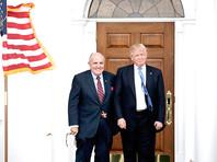 Рудольф Джулиани( на фото - слева) и Дональд Трамп