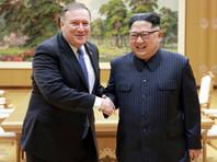 Майк Помпео и Ким Чен Ын, Пхеньян, май 2018 года