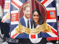 В Великобритании идет  свадьба   принца Гарри  и  Меган Маркл