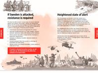 Шведские власти разослали гражданам брошюры с рекомендациями на случай начала войны