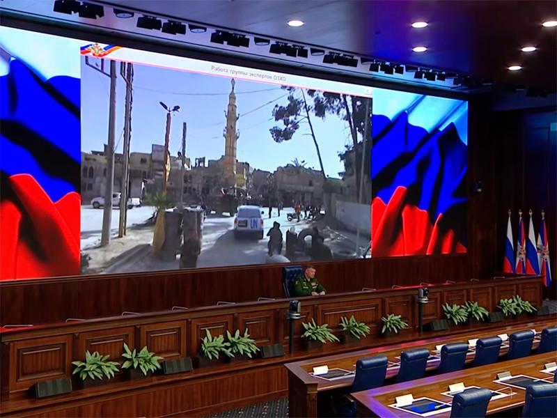 Официальный представитель Минобороны РФ генерал-майор Игорь Конашенков сообщил об окончании работы экспертов ОЗХО в Думе