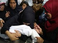 В Израиле назвали причину смерти восьмимесячной  девочки в Газе, которую приписали к жертвам столкновений