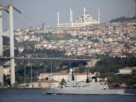 Группа кораблей НАТО заплыла в Черное море, следуя на учения к берегам Турции и Греции