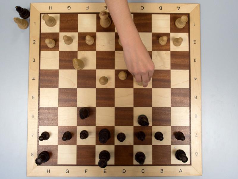 Советская и грузинская шахматистка Нона Гаприндашвили, которая стала первым в мире международным гроссмейстером среди женщин, посетила одну из колоний недалеко от Тбилиси и сыграла с заключенными.
