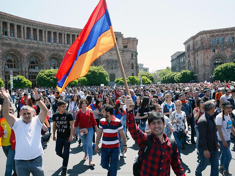 Ереван, 2 мая 2018 года
