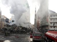 Высотный дом в Сан-Паулу обрушился из-за пожара, который мог быть следствием  семейной ссорой