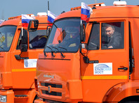 15 мая Владимир Путин прибыл из Сочи к Крымскому мосту, чтобы принять участие в церемонии открытия его автодорожной части