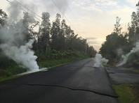 Чиновники объявили об опасности затопления лавой близлежащих районов. Кроме того, они заявили, что из-за извержения в воздухе зафиксирован опасно высокий уровень содержания диоксида серы