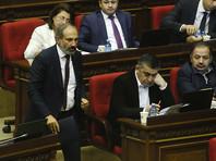 Национальное собрание Армении 8 мая поддержало кандидатуру 42-летнего лидера армянской оппозиции Никола Пашиняна, выдвинувшегося на пост премьер-министра страны