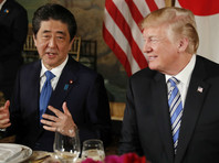 Трамп и Абэ договорились встретиться перед саммитом США и КНДР