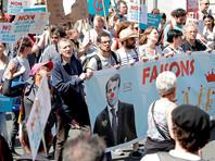 Парижская демонстрация против политики Макрона собрала 40 тысяч человек
