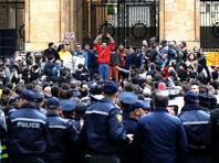 Протесты против жестокости полиции распространились на другие города Грузии