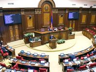 Парламент Армении проголосовал против кандидатуры Пашиняна на пост премьера