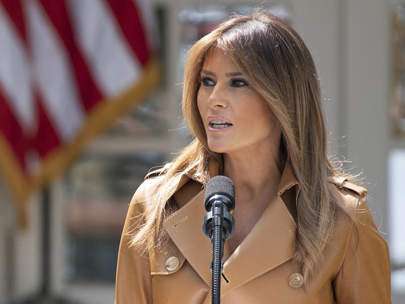 Супруга президента США Мелания Трамп выступила с критикой жесткой иммиграционной политики своего мужа