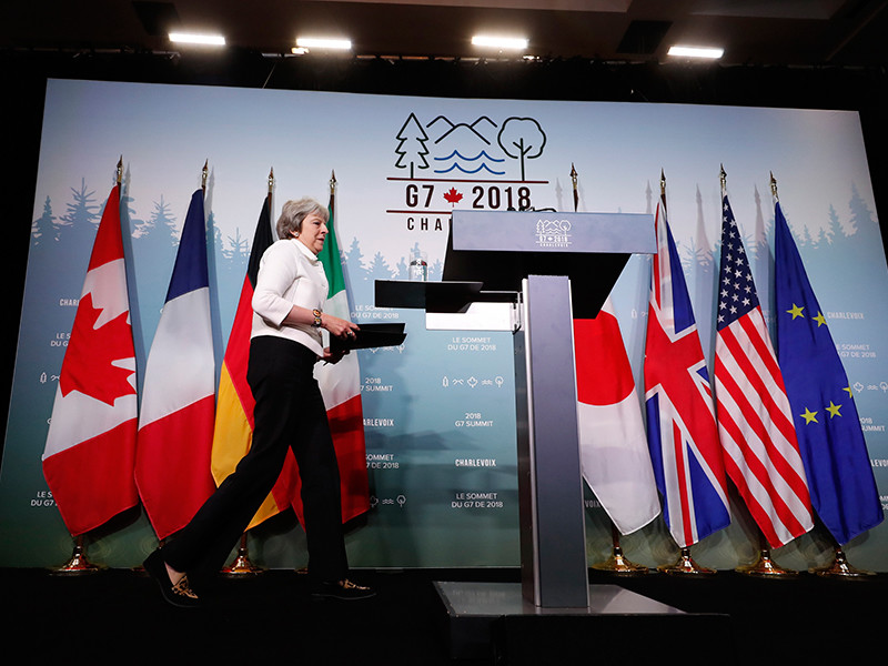 Лидеры G7 договорились сообща вводить санкции против России