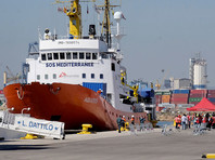 Первые 106 мигрантов с судна Aquarius прибыли в Испанию (ВИДЕО)