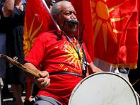 Жители Македонии вышли на акции протеста против соглашения о переименовании страны