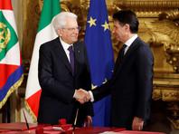 Новое правительство Италии во главе с Джузеппе Конте 1 мая принесло присягу в Квиринальском дворце в Риме в присутствии президента республики Серджо Маттареллы