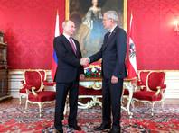 В Вене состоялись переговоры Владимира Путина с Федеральным президентом Австрийской Республики Александром Ван дер Белленом
