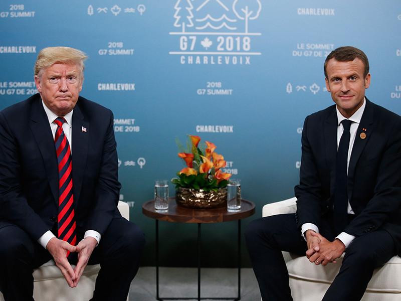 """В Елисейском дворце опровергли сообщения о том, что Трамп назвал Париж """"столицей террористов"""""""" />"""
