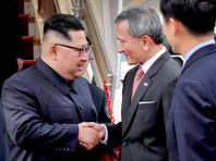 Ким Чен Ын прилетел в Сингапур