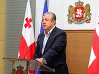 Премьер-министр Грузии отказался уходить в отставку по требованию протестующих